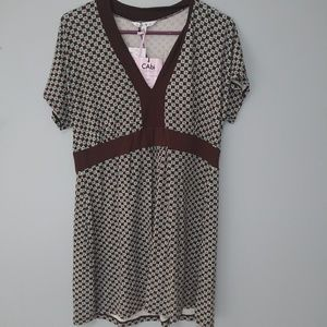 Nwt XL CAbi shift dress